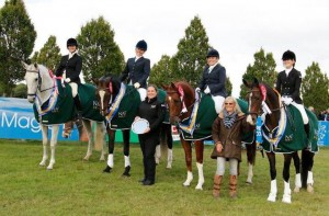 NAF Novice Dressage Team National Champions 2015