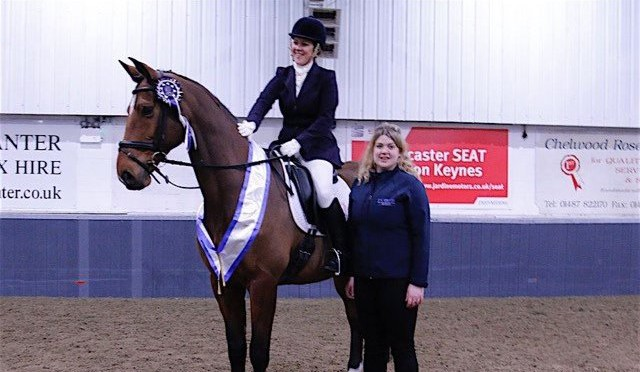 Emma Walters – 2nd at KBIS Winter Dressage Novice Championships WYHP