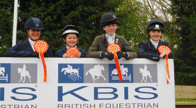 Ackworth District Riding Club Junior Novice Showjumping Team came 6th at the Winter Championships